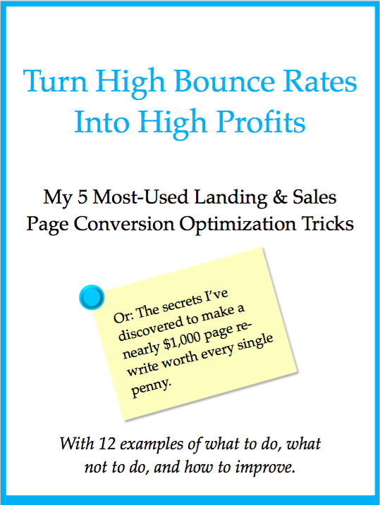 high bounce rates to high profits free ebook